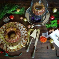 Gingerbread Bundt Cake With Orange Glaze