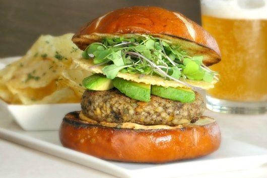 Mixed Grain Veggie Burger