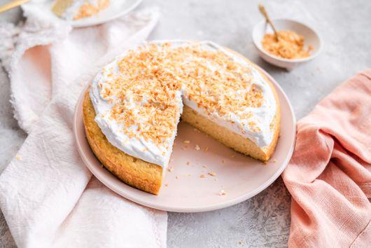 Vegan Triple Coconut Cake