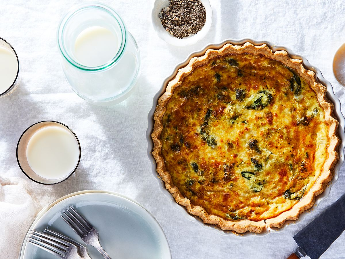Vegetarian Quiche Recipe On Food52