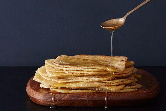 Crispy Moroccan Pancakes (M'smmen)