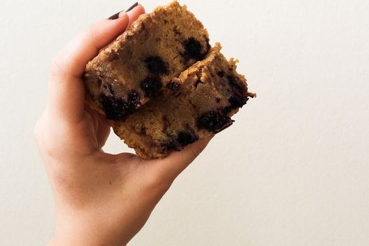 Blackberry Brown Butter Blondies