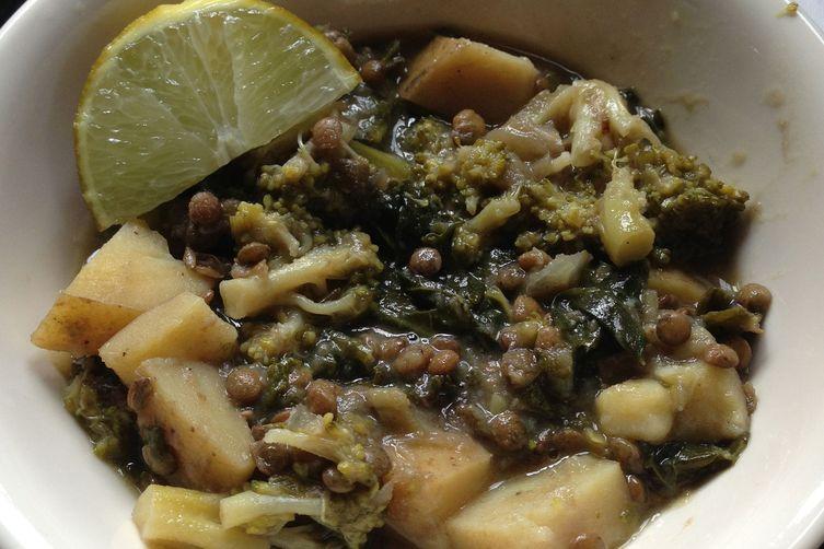 Verde Lentil & Kale Soup