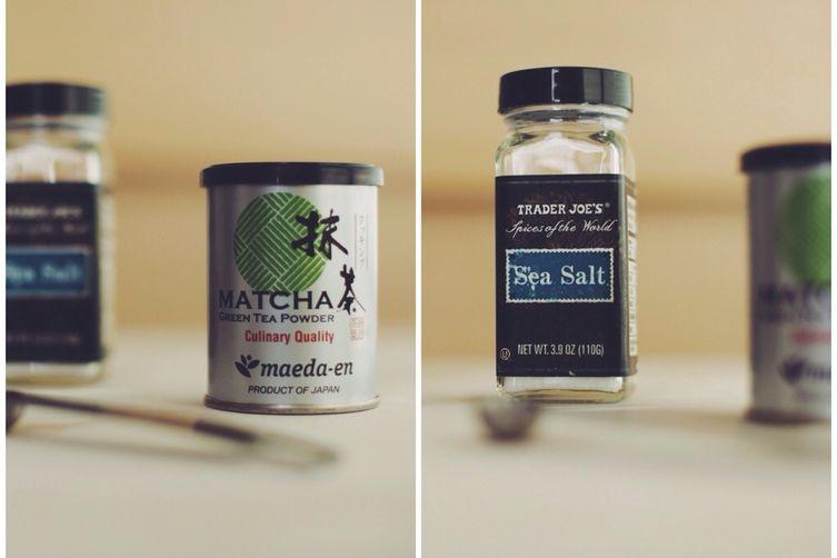 Edamame with Matcha Salt