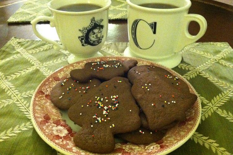 Chocolate Kriss Kringle Cookies