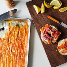 "Smoked Carrot ""Lox"""