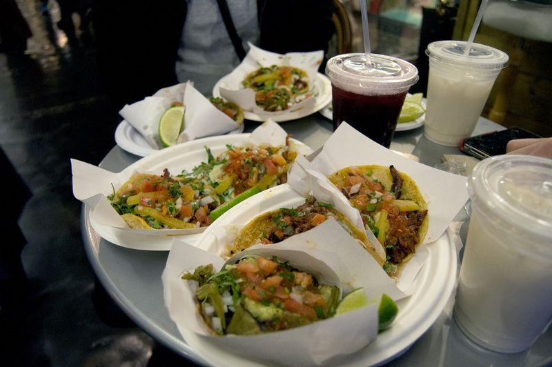 Los Tacos 1 in Chelsea Market.