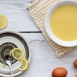 "Cypriot Chicken-Lemon-Egg Soup (""Avgolemono"")"