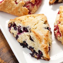 Cook's Illustrated Blueberry Scones