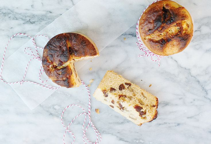 How to Make Date, Fig, and Walnut Panettone