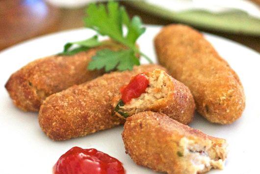 Leftover Turkey Croquettes