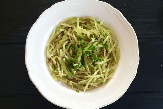 Celtuce & Peppercorn Salad (Stem Lettuce)