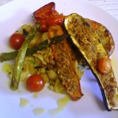 Baked Vegetables stuffed with Mozzarella and Breadcrumbs