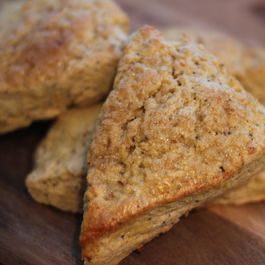 Orange Poppyseed Scones