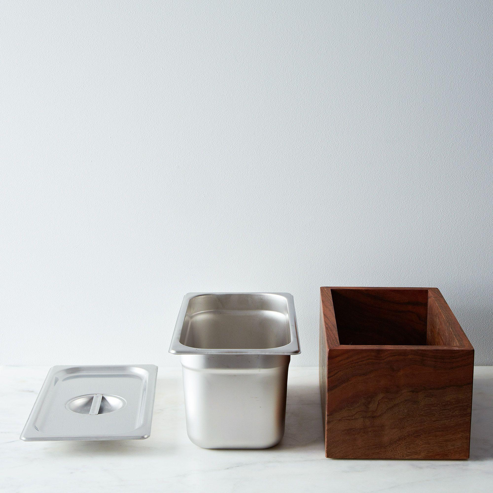 Countertop Walnut Compost Bin on Food52