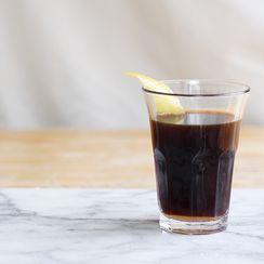 Warm Espresso & Rum Digestif (Ponce Livornese)