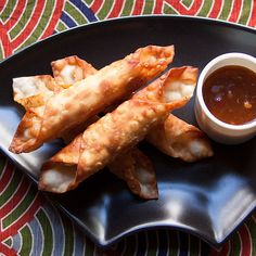 Fried Shrimp Batons with Apricot Ginger Sauce