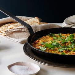 Scrambled Eggs Patia (Slow-Cooked, Indian-Inspired Scrambled Eggs)