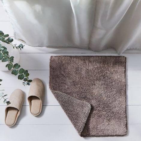 Reversible Cotton Bath Mat