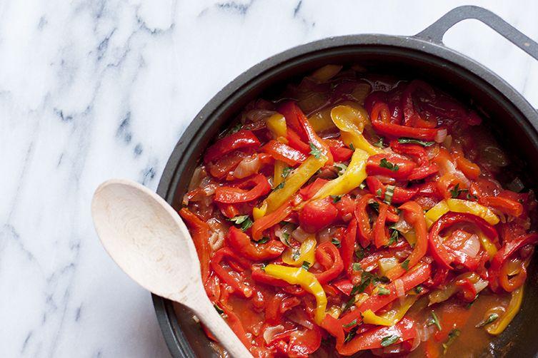 Peperonata (Red Pepper Stew)