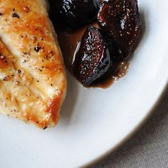 Chicken with Figs, Wine & Honey