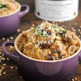 00318f30 ab8c 4d35 b90e b78e14667e36  savory mushroom and herb steel cut oatmeal risotto4