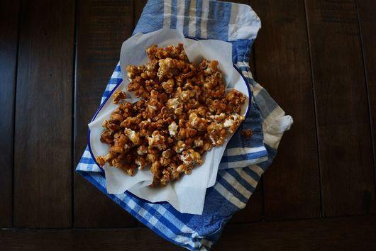 Sweet and Salty Teriyaki Popcorn
