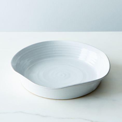 "Stoneware 11"" Pie Plate"
