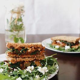 Mediterranean Veggie Sandwiches