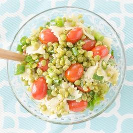 Green Split Pea & Basil Salad