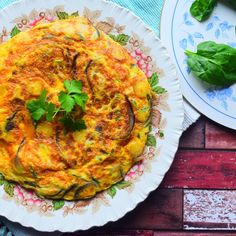 Spanish Omelette with Parsnip
