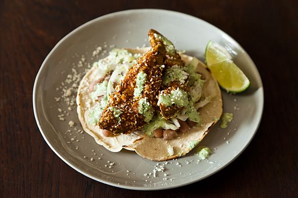 Fried Avocado Tacos on Food52