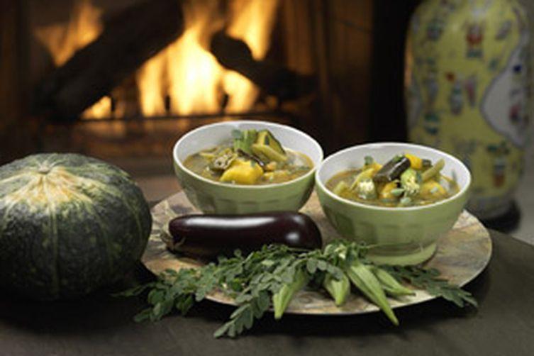 Moringa Squash Soup