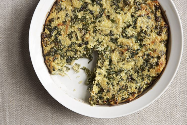 Quinoa and Kale Crustless Quiche