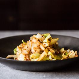 Madhur Jaffrey's Stir-Fried Cabbage with Fennel Seeds