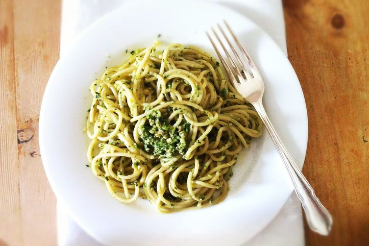 Walnut, Herb, and Anchovy Sauce
