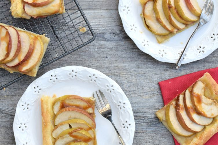 french apple tart tarte fine aux pommes vegan recipe. Black Bedroom Furniture Sets. Home Design Ideas