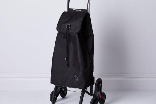 Stair-Climbing Rolling Cart