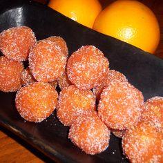 Carrot - orange balls