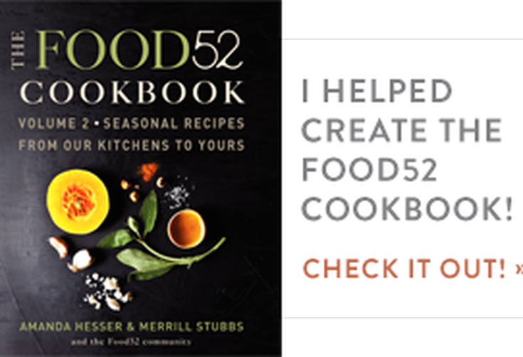 The Food52 Cookbook, Volume II Blogger Badge