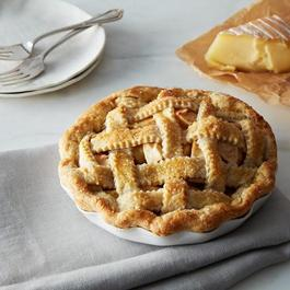 Pie for Two, White Plate