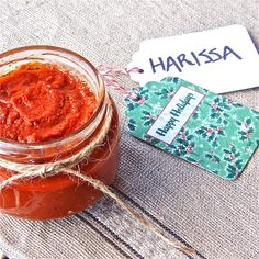 Homemade Spicy Harissa