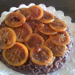 CHOCOLATE ORANGE UPSIDE DOWN CAKE