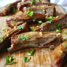 Garlic Lamb Riblets