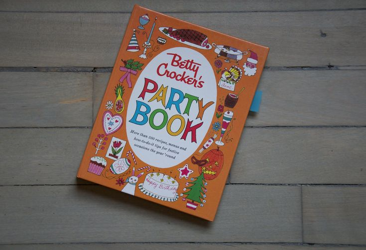 Beyond the Cover: Betty Crocker's Party Book