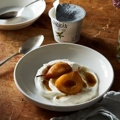 Apple Cider and Cardamom Roasted Pears