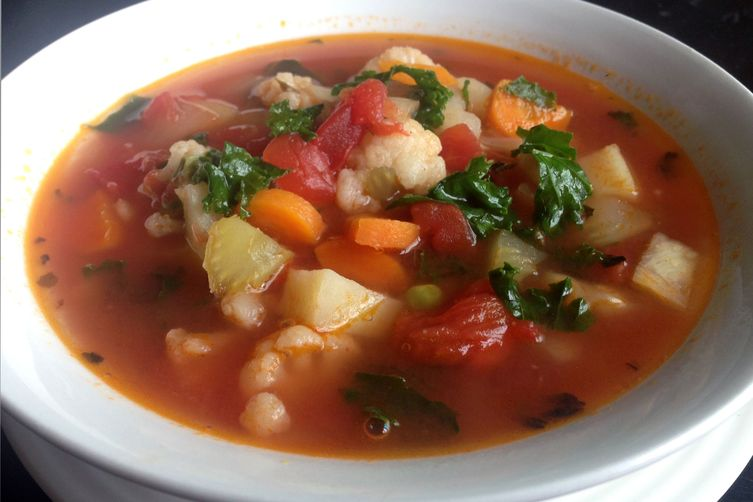 10 Vegetable Soup