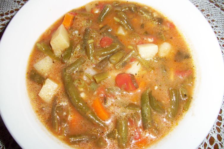 Green Bean Soup (Bouneschlupp) Recipe — Dishmaps