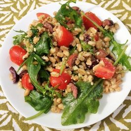 Farro Salad with Pesto