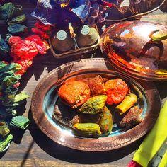 Stuffed Sun Dried Vegetables (Nakışlı Dolma)